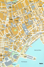 Map of Naples