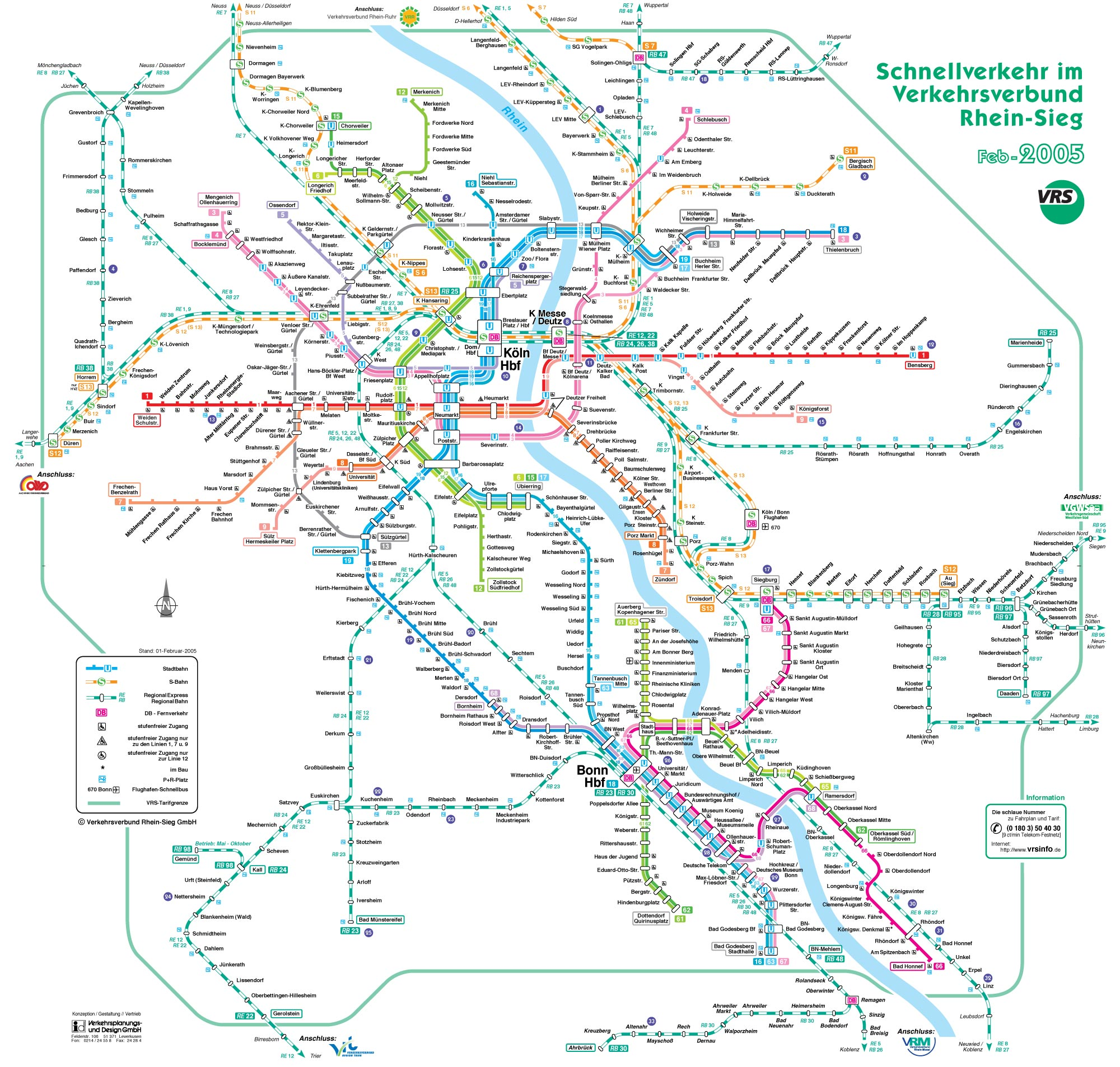 Metro map of Cologne. Metro maps of Germany. — Planetolog.com