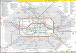 Metro map of Berlin
