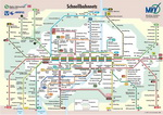Metro map of Munich